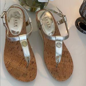 Beautiful Ralph Lauren Wedge sandals